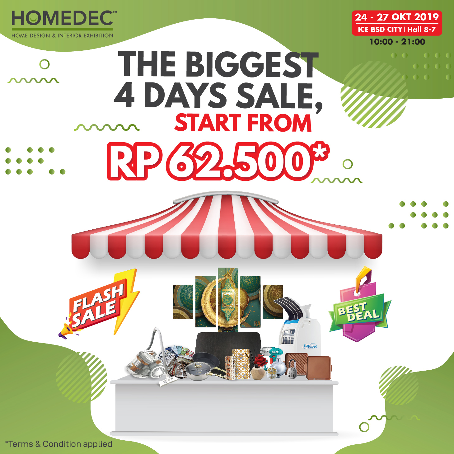 The Biggest 4 Days Sale